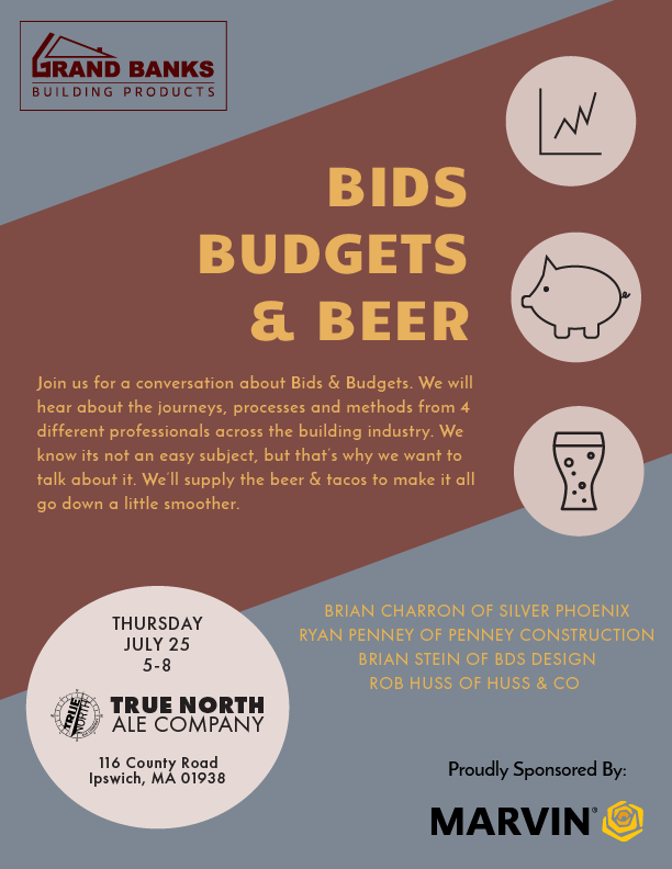 Bids, Budgets, Beer